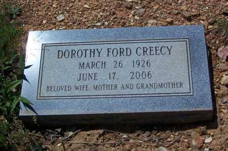 CREECY, DOROTHY FORD - Garland County, Arkansas | DOROTHY FORD CREECY - Arkansas Gravestone Photos