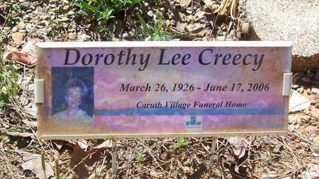 CREECY, DOROTHY LEE - Garland County, Arkansas | DOROTHY LEE CREECY - Arkansas Gravestone Photos