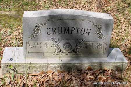 CRUMPTON, BILLY JOE - Garland County, Arkansas | BILLY JOE CRUMPTON - Arkansas Gravestone Photos