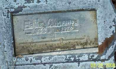 CUMMINGS, HATTIE - Garland County, Arkansas | HATTIE CUMMINGS - Arkansas Gravestone Photos