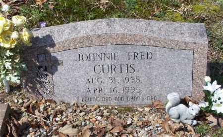 CURTIS, JOHNNIE FRED - Garland County, Arkansas | JOHNNIE FRED CURTIS - Arkansas Gravestone Photos