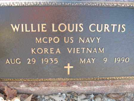 CURTIS (VETERAN 2 WARS), WILLIE LOUIS - Garland County, Arkansas | WILLIE LOUIS CURTIS (VETERAN 2 WARS) - Arkansas Gravestone Photos