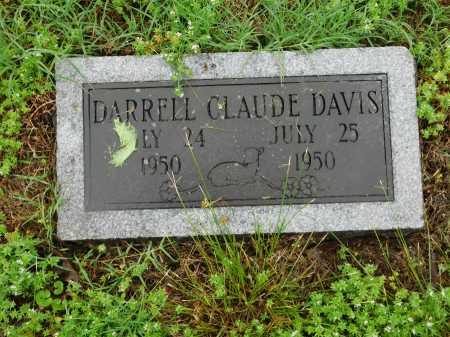 DAVIS, DARRELL CLAUDE - Garland County, Arkansas   DARRELL CLAUDE DAVIS - Arkansas Gravestone Photos