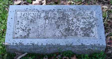 DEAN, LONNIE JEAN - Garland County, Arkansas | LONNIE JEAN DEAN - Arkansas Gravestone Photos