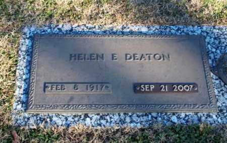 PEZOLD DEATON, HELEN ELIZABETH - Garland County, Arkansas | HELEN ELIZABETH PEZOLD DEATON - Arkansas Gravestone Photos