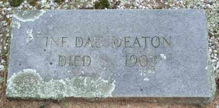 DEATON, INFANT DAUGHTER - Garland County, Arkansas | INFANT DAUGHTER DEATON - Arkansas Gravestone Photos