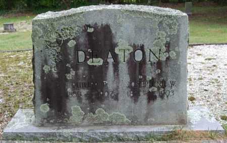 DEATON, JOSEPHINE - Garland County, Arkansas | JOSEPHINE DEATON - Arkansas Gravestone Photos