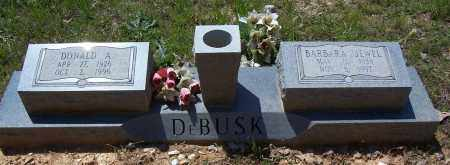 DEBUSK, BARBARA JEWEL - Garland County, Arkansas | BARBARA JEWEL DEBUSK - Arkansas Gravestone Photos