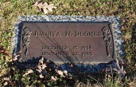 DEOMES, JUANITA N. - Garland County, Arkansas | JUANITA N. DEOMES - Arkansas Gravestone Photos