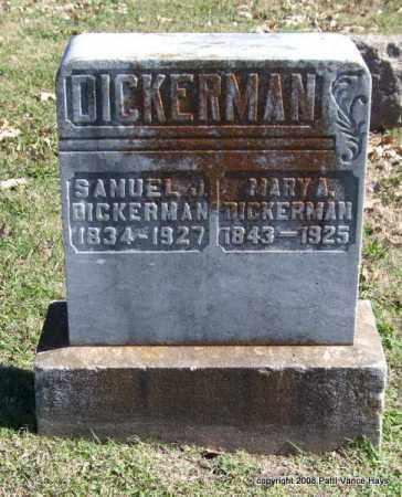 DICKERMAN, SAMUEL J. - Garland County, Arkansas   SAMUEL J. DICKERMAN - Arkansas Gravestone Photos