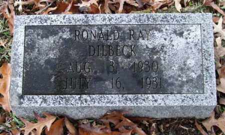 DILBECK, RONALD RAY - Garland County, Arkansas | RONALD RAY DILBECK - Arkansas Gravestone Photos