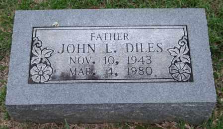 DILES, JOHN L. - Garland County, Arkansas | JOHN L. DILES - Arkansas Gravestone Photos