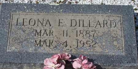 DILLARD, LEONA E. - Garland County, Arkansas | LEONA E. DILLARD - Arkansas Gravestone Photos