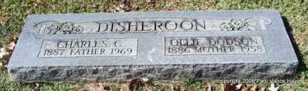 DODSON DISHEROON, OLLIE - Garland County, Arkansas | OLLIE DODSON DISHEROON - Arkansas Gravestone Photos
