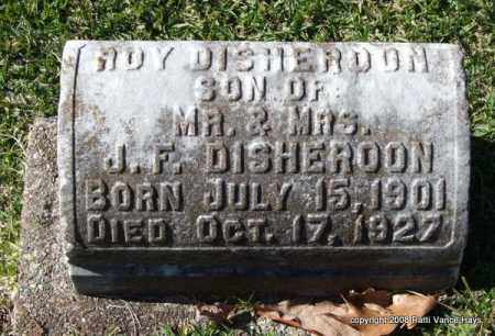 DISHEROON, ROY - Garland County, Arkansas   ROY DISHEROON - Arkansas Gravestone Photos