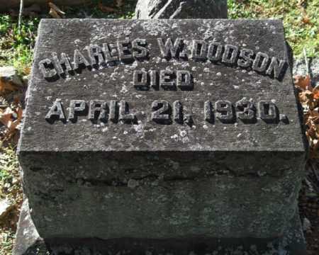 DODSON, CHARLES W. - Garland County, Arkansas   CHARLES W. DODSON - Arkansas Gravestone Photos