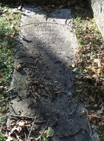 DODSON, ISABELLE MCCLERKIN - Garland County, Arkansas | ISABELLE MCCLERKIN DODSON - Arkansas Gravestone Photos