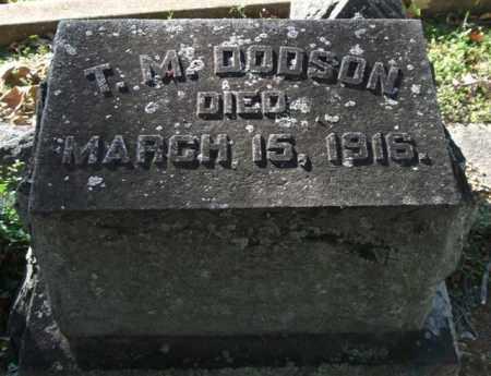 DODSON, T. M. - Garland County, Arkansas | T. M. DODSON - Arkansas Gravestone Photos