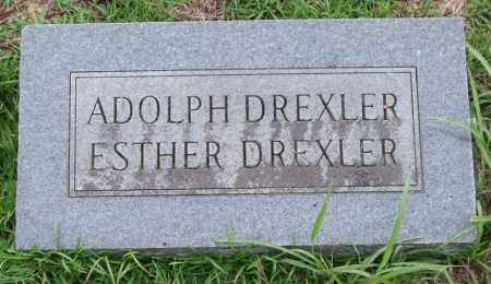 DREXLER, ADOLPH - Garland County, Arkansas   ADOLPH DREXLER - Arkansas Gravestone Photos