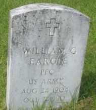 EARGLE (VETERAN), WILLIAM G - Garland County, Arkansas   WILLIAM G EARGLE (VETERAN) - Arkansas Gravestone Photos