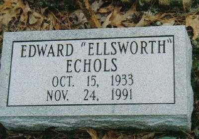 """ECHOLS, EDWARD """"ELLSWORTH"""" - Garland County, Arkansas   EDWARD """"ELLSWORTH"""" ECHOLS - Arkansas Gravestone Photos"""