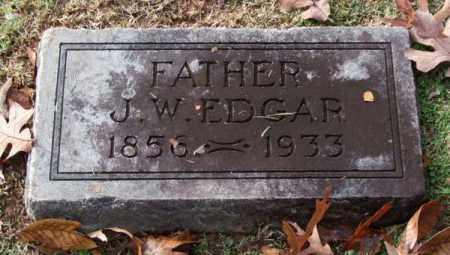 EDGAR, J. W. - Garland County, Arkansas | J. W. EDGAR - Arkansas Gravestone Photos