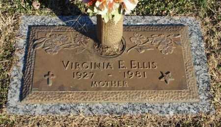 ELLIS, VIRGINIA E. - Garland County, Arkansas | VIRGINIA E. ELLIS - Arkansas Gravestone Photos