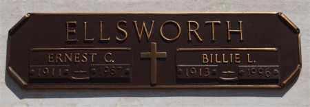ELLSWORTH, BILLIE L - Garland County, Arkansas | BILLIE L ELLSWORTH - Arkansas Gravestone Photos
