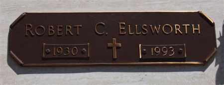 ELLSWORTH, ROBERT C - Garland County, Arkansas   ROBERT C ELLSWORTH - Arkansas Gravestone Photos