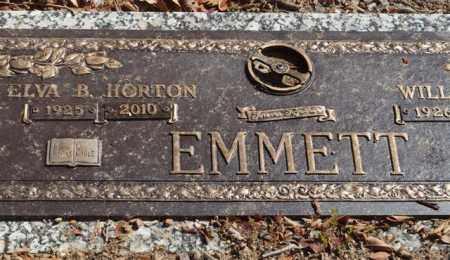 HORTON EMMETT, ELVA B - Garland County, Arkansas   ELVA B HORTON EMMETT - Arkansas Gravestone Photos