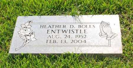 BOLES ENTWISTLE, HEATHER D. - Garland County, Arkansas | HEATHER D. BOLES ENTWISTLE - Arkansas Gravestone Photos