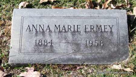 ERMEY, ANNA MARIE - Garland County, Arkansas | ANNA MARIE ERMEY - Arkansas Gravestone Photos