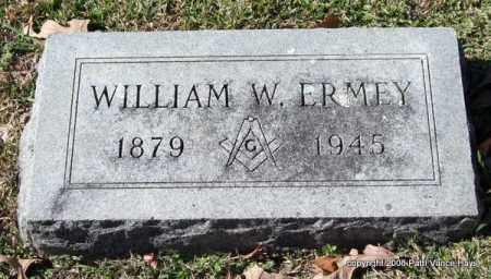 ERMEY, WILLIAM W. - Garland County, Arkansas   WILLIAM W. ERMEY - Arkansas Gravestone Photos