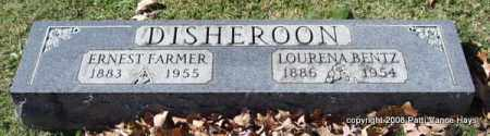 LOURENA, DISHEROON - Garland County, Arkansas | DISHEROON LOURENA - Arkansas Gravestone Photos