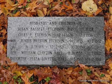 ETCHISON, JUNIUS PRESTON - Garland County, Arkansas | JUNIUS PRESTON ETCHISON - Arkansas Gravestone Photos