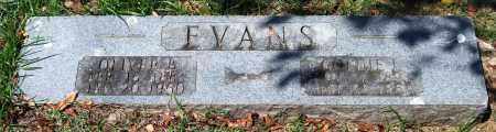 EVANS, OLIVER B. - Garland County, Arkansas   OLIVER B. EVANS - Arkansas Gravestone Photos