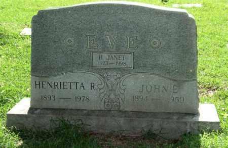 EVE, FAMILY MONUMENT - Garland County, Arkansas | FAMILY MONUMENT EVE - Arkansas Gravestone Photos