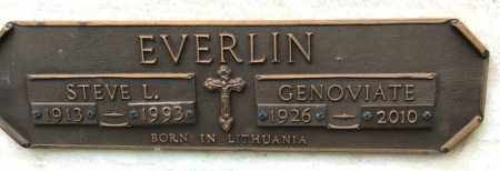 EVERLIN, GENOVIATE - Garland County, Arkansas | GENOVIATE EVERLIN - Arkansas Gravestone Photos