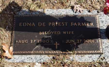FARMER, EDNA - Garland County, Arkansas   EDNA FARMER - Arkansas Gravestone Photos