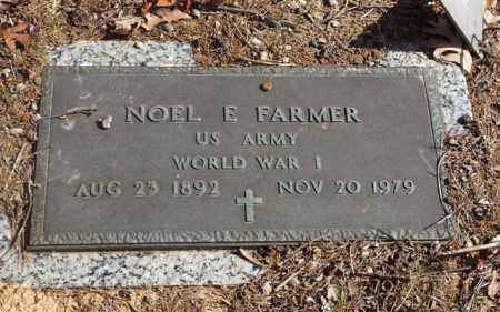 FARMER (VETERAN WWI), NOEL E - Garland County, Arkansas | NOEL E FARMER (VETERAN WWI) - Arkansas Gravestone Photos