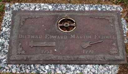 FEHMEL, DIETMAR EDWARD MARTIN - Garland County, Arkansas   DIETMAR EDWARD MARTIN FEHMEL - Arkansas Gravestone Photos