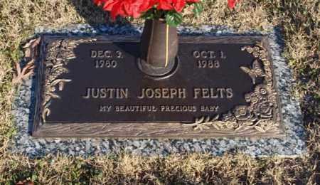 FELTS, JUSTIN JOSEPH - Garland County, Arkansas | JUSTIN JOSEPH FELTS - Arkansas Gravestone Photos