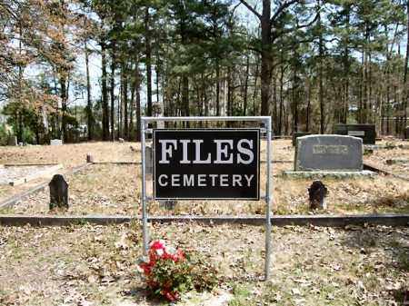 *FILES CEMETERY, GATE & DIRECTIONS - Garland County, Arkansas | GATE & DIRECTIONS *FILES CEMETERY - Arkansas Gravestone Photos