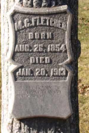 FLETCHER, M. C. (CLOSE UP) - Garland County, Arkansas   M. C. (CLOSE UP) FLETCHER - Arkansas Gravestone Photos
