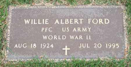 "FORD (VETERAN WWII), WILLIAM ALBERT ""WILLIE"" ""BILL"" - Garland County, Arkansas | WILLIAM ALBERT ""WILLIE"" ""BILL"" FORD (VETERAN WWII) - Arkansas Gravestone Photos"