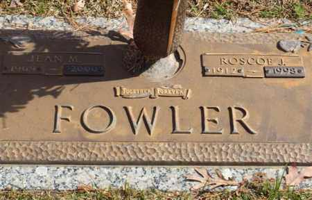 FOWLER, JEAN M - Garland County, Arkansas | JEAN M FOWLER - Arkansas Gravestone Photos