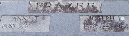 FRAZEE, JOSEPH L. (CLOSE UP) - Garland County, Arkansas | JOSEPH L. (CLOSE UP) FRAZEE - Arkansas Gravestone Photos