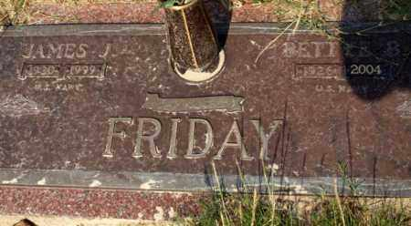 FRIDAY (VETERAN), JAMES J - Garland County, Arkansas | JAMES J FRIDAY (VETERAN) - Arkansas Gravestone Photos
