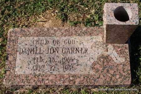 GARNER, DANIEL JON - Garland County, Arkansas   DANIEL JON GARNER - Arkansas Gravestone Photos