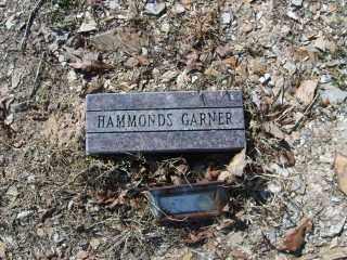 GARNER, HAMMONDS - Garland County, Arkansas | HAMMONDS GARNER - Arkansas Gravestone Photos